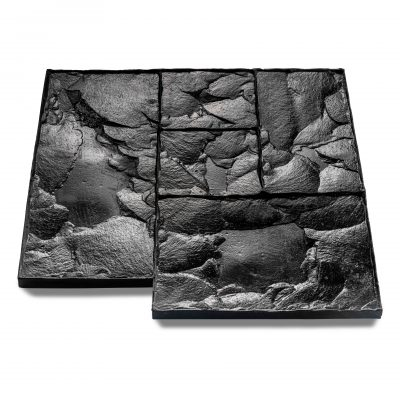 Small Ashlar Slate Imprint Mat