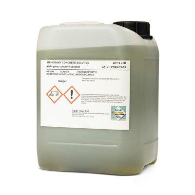 Mahogany Acid Stain